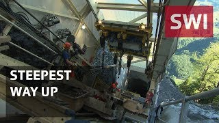 Download The world's steepest funicular Video