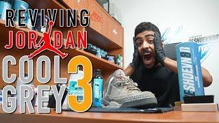 Download Air Jordan Cool Grey 3 Full Restoration Video
