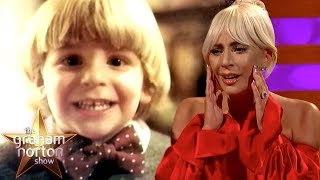 Download Lady Gaga Can't Handle Bradley Cooper's Baby Photo | The Graham Norton Show Video