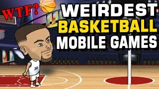 Download WEIRDEST BASKETBALL MOBILE GAMES! FREE TO PLAY! Video