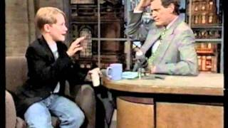 Download Macaulay Culkin - 06-09-94 Letterman Video