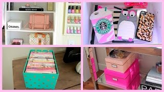 Download Storage & Organization Ideas + DIY Chanel Box Video