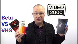Download Video History: V2000 - The format that came third in a two-horse race Video