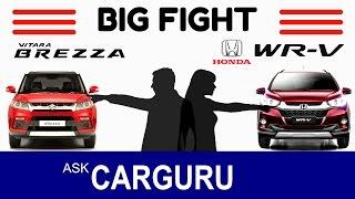 Download Maruti BREZZA vs HONDA WRV, The Big Fight, CARGURU, इंजन, इंटीरियर, सेफ्टी, सभी जानकारियाँ Video