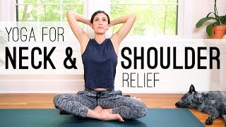 Download Yoga for Neck and Shoulder Relief - Yoga With Adriene Video