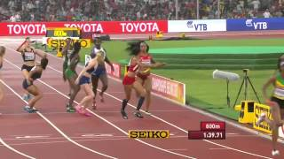 Download Brilliant run by Team Jamaica and USA in women's 4x400m Final World Champs 2015 Video
