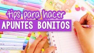 Download CÓMO HACER APUNTES BONITOS Y PERFECTOS - Tips regreso a clases ✎ Craftingeek Video