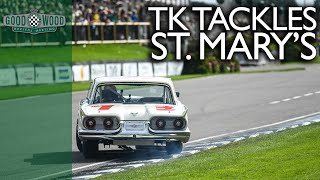 Download Tom Kristensen's mighty Thunderbird carves through the pack Video