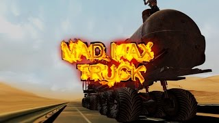 Download WAR RIG - Mad Max Fury Road in ETS 2 Mod - Monster Rock Fire Valhalla Ride Doof Wagon Video
