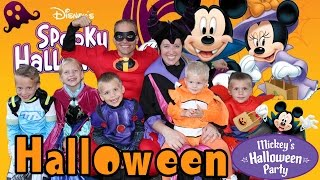 Download Mickey's Halloween Party at Disneyland 2015 + Candy Haul! Video