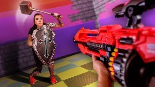 Download NERF Dungeons & Dragons Challenge! [Ep. 4] Video