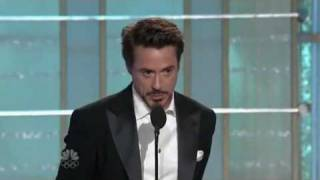 Download Robert Downey Jr.-Golden Globe Awards-best actor Video