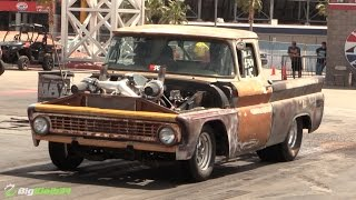 Download Beat Up Old Truck Turns Into Racing Machine Thanks to a Set of Turbos Video