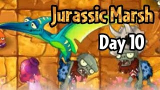 Download Plants vs Zombies 2 - Jurassic Marsh Day 10 Video