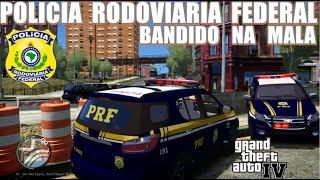 Download GTA 4 POLICIA🔰  PRF : Trailblazer com bandido na mala! Video