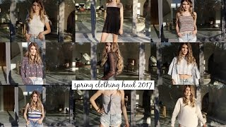 Download TRY-ON SPRING CLOTHING HAUL 2017 l Olivia Jade Video