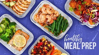 Download 5 Healthy MEAL PREP Ideas | Back-To-School 2017 Video