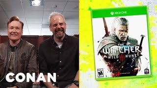 Download Clueless Gamer: Conan Reviews ″The Witcher 3: Wild Hunt″ - CONAN on TBS Video