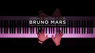 Download Bruno Mars - Versace On The Floor | The Theorist PIano Cover Video