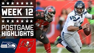 Download Seahawks vs. Buccaneers | NFL Week 12 Game Highlights Video