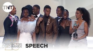 Download Black Panther: Award Acceptance Speech | 25th Annual SAG Awards | TNT Video