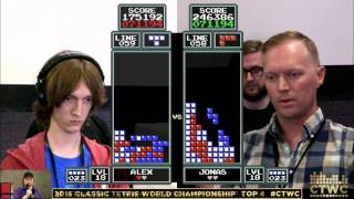 Download Top 4 - Alex Kerr vs. Jonas Neubauer - Classic Tetris World Championship 2015 Video
