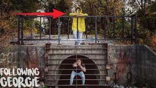Download I FOLLOWED GEORGIE FROM ″IT″ BACK TO THE SEWER AND I ENDED UP AT THE PENNYWISE SEWER | FOLLOWING HIM Video
