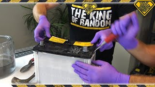 Download Hacking Open A Car Battery (for Lead and Acid) Video