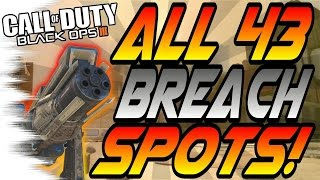 Download ALL 43 BREACH SPOTS & GLITCHES! - Ledges, Hiding Spots, Lines of Sight (Black Ops 3/BO3 Tricks) Video