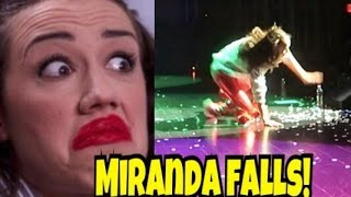 Download MIRANDA FALLS DURING LIVE SHOW! Video