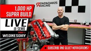 Download 1,000 HP Supra build | Live @ Sema | Wednesday Video
