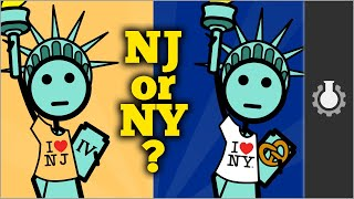 Download Who Owns The Statue of Liberty? (New Jersey vs New York) Video