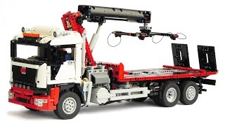 Download LEGO Technic Recovery Truck with Crane Video