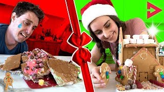 Download CLICKMAS GINGERBREAD CHALLENGE! Ft. Lazarbeam, Muselk, Loserfruit, Crayator, BazzaGazza and Marcus Video