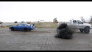 Download CUMMINS VS SUPRA TUG O WAR / MY NEW JOB Video