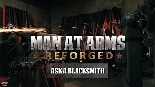 Download Ask A Blacksmith Part 2 - MAN AT ARMS: REFORGED Video