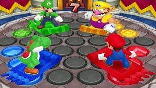 Download Mario Party: Island Tour Mini Games - Yoshi Vs Mario Vs Luigi Vs Wario (Master CPU) Video