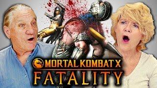 Download ELDERS REACT TO MORTAL KOMBAT FATALITIES (React-Mini) Video
