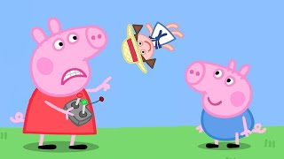 Download Peppa Pig Full Episodes | Grandpa's Toy Plane | Cartoons for Children Video