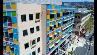 Download Drone video of UCSF Benioff Children's Hospital Oakland's new outpatient center Video