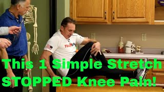 Download How 1 Simple Stretch STOPPED Real Patient's Knee Pain-Now Doing Iron Man Races! Video