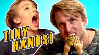 Download TINY HANDS CHALLENGE (Squad Vlogs) Video