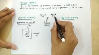 Download ELECTRODE POTENTIAL OXIDATION AND REDUCTION POTENTIAL Video