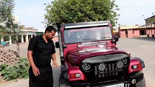 Download Modified Mm550 into Thar with Hardtop by Ankita jeeps:-9966660373 Video
