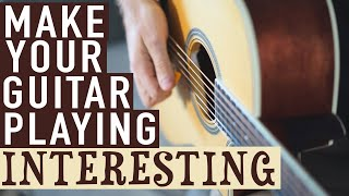 Download How to Make Your Guitar Playing Interesting Video