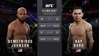 Download UFC 215: Johnson vs. Borg - Flyweight Title Match - CPU Prediction Video