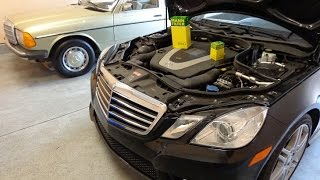 Download DIY W212 Mercedes Benz E350 oil change AND assyst OIL service reset Video
