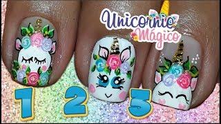 Download 3 FORMAS DE HACER UN UNICORNIO/Uñas Unicornio/uñas unicornio facil Video