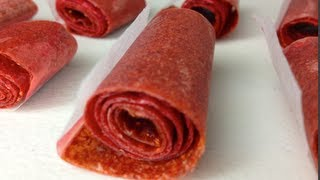 Download How to make Fruit Roll-Ups Video