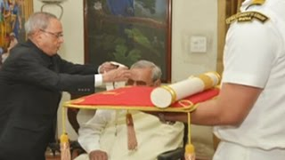 Download Former PM Vajpayee receives Bharat Ratna, India's highest civilian honour Video